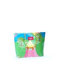 Veľké tašky - Nadácia DeDo: DORKA bag (Farebné šapitó) - 11220315_