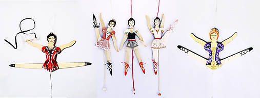 Pohyblivá hračka - súprava na dotvorenie (Tanečnica)
