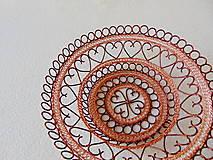 Dekorácie - Drôtená miska Z lásky - 11220873_