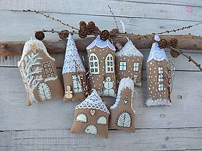 Dekorácie - Vianočná ulička - 11221895_