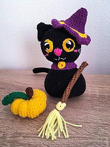 Hračky - Háčkovaná mačička - 11221035_
