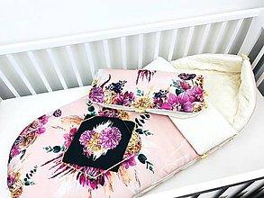 Textil - Zimný fusák pre bábätko - 11219907_