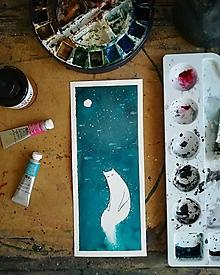 Obrazy - kočičí duch - 11219967_