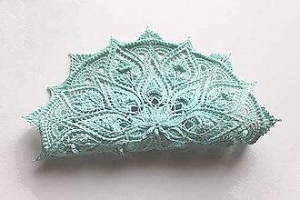 Úžitkový textil - Háčkovaná dečka Calla - 11220060_