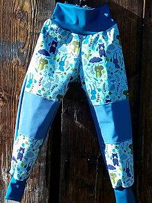 Detské oblečenie - Detské softshellové nohavice. - 11222343_