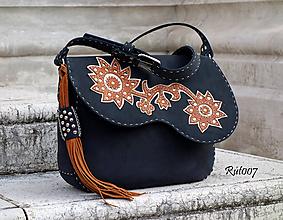 Kabelky - Ručně šitá kožená kabelka_Nšo-či - 11221941_