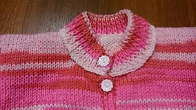 Detské oblečenie - Svetr pletený dívčí - 11220524_