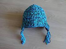 Detské čiapky - Dětská čepička chlapecká - 11220721_