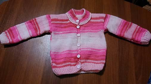 Svetr pletený dívčí