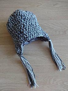 Detské čiapky - Dětská čepička - 11220679_