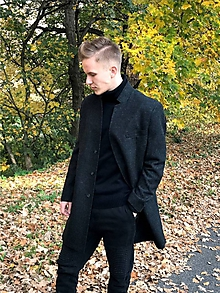 Kabáty - pánsky kabát ADAM - 11221253_