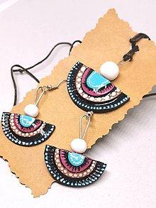 Sady šperkov - Ružovo-modré - 11222119_