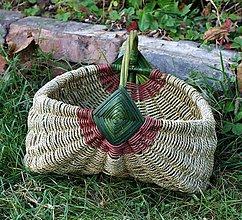 Košíky - záhradkársky košík - 11221346_