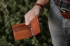 Peňaženky - Heron Wallet (Hnedá) - 11224291_