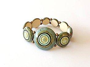 Náramky - keramický náramok - 11226634_