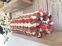 Textil - Dečka pestro farebná - 11222953_