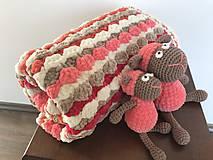 Textil - Dečka pestro farebná - 11222954_