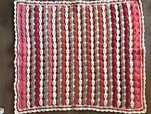 Textil - Dečka pestro farebná - 11222955_