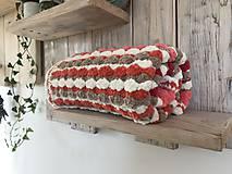 Textil - Dečka pestro farebná - 11222956_