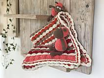 Textil - Dečka pestro farebná - 11222959_
