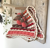 Textil - Dečka pestro farebná - 11222960_