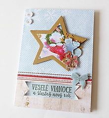 Papiernictvo - pohľadnica vianočná - 11223003_