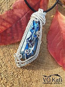 Náhrdelníky - Tiyana - wire wrapping - 11227158_