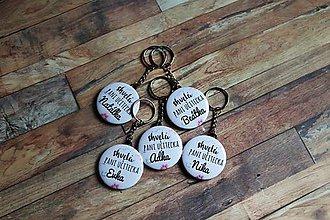 Kľúčenky - kľúčenka (skvelá pani učiteľka) - 11225564_