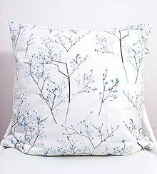 Úžitkový textil - FLORAL akvarelová obliečka - Gypsomilka II. - 11225572_
