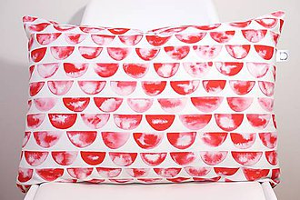 Úžitkový textil - SCARLET akvarelová obliečka - šupiny II. - 11225585_
