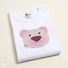 Detské oblečenie - body MACUĽKA (dlhý/krátky rukáv) - 11226569_
