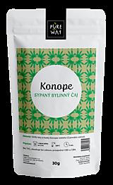 Potraviny - KONOPE sypaný bylinný čaj, 30 g - 11223592_