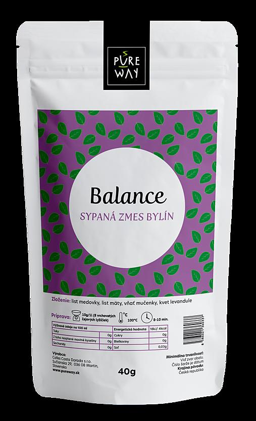 BALANCE sypaná zmes bylín, 40 g