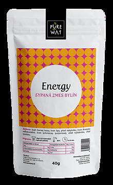 Potraviny - ENERGY sypaná zmes bylín, 40 g - 11223615_