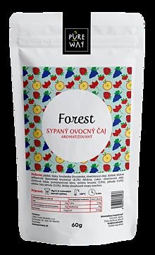 Potraviny - FOREST sypaný ovocný čaj aromatizovaný, 60 g - 11223616_