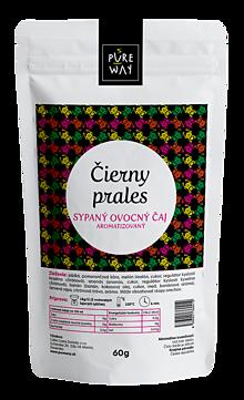 Potraviny - ČIERNY PRALES sypaný ovocný čaj aromatizovaný, 60 g - 11223621_
