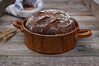 Nádoby - Forma na pečenie chleba - KLASY - okrúhla - 11227304_