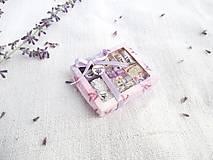 Mini balíček prírodnej kozmetiky pre Barbie (Levanduľa)