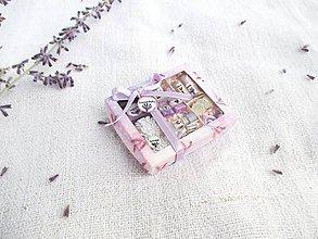 Hračky - Mini balíček prírodnej kozmetiky pre Barbie (Levanduľa) - 11226309_