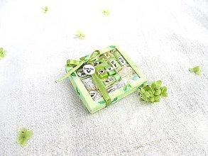 Hračky - Mini balíček prírodnej kozmetiky pre Barbie (Zelený čaj) - 11226335_