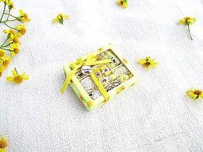 Hračky - Mini balíček prírodnej kozmetiky pre Barbie (Nechtík lekársky) - 11226345_