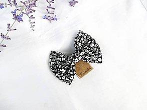 Ozdoby do vlasov - Mašlička/motýlik (s pinetkou) - 11226452_