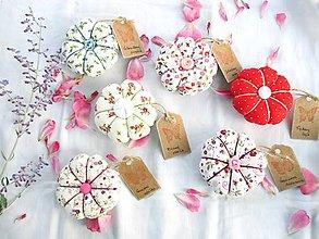 Úžitkový textil - Ihelníček - vankúšik na ihly - 11226498_
