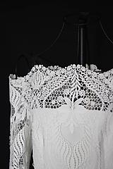 Šaty - Svadobné šaty s holými ramenami - 11226050_