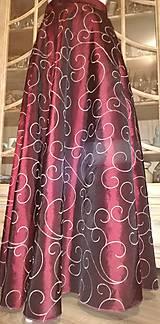 Sukne - Dlhá taftová sukňa - 11226149_