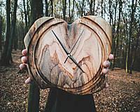 Hodiny - Artefakt - Teakové drevené hodiny - 11223769_
