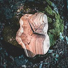Hodiny - RAW - Teakové drevené hodiny - 11223685_
