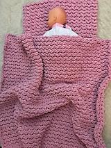 Textil - Deka a vankúšik pre bábätko - 11225352_