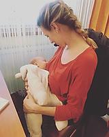 Tehotenské/Na dojčenie - Tričko na dojčenie OVERSIZE - 11226737_