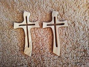 Drobnosti - Drevený kríž - 11225615_